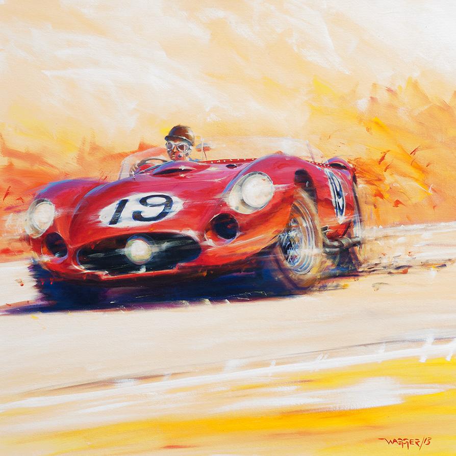 hot - Acryl auf Leinwand/Acrylic on canvas - Größe/size 90/90cm - verkauft/ sold