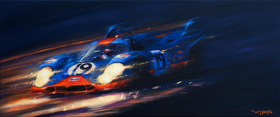 nightflight - Acryl auf Leinwand/Acrylic on canvas - Größe/size 190/80cm - verkauft/ sold