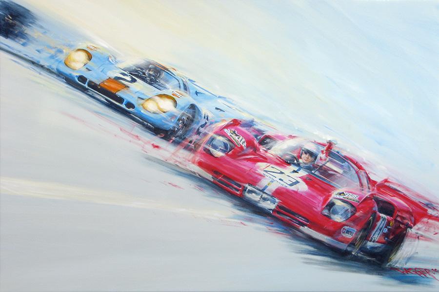 decisive move 71 - Acryl auf Leinwand/Acrylic on canvas - Größe/size 150/100cm - Preis auf Anfrage/Price upon request
