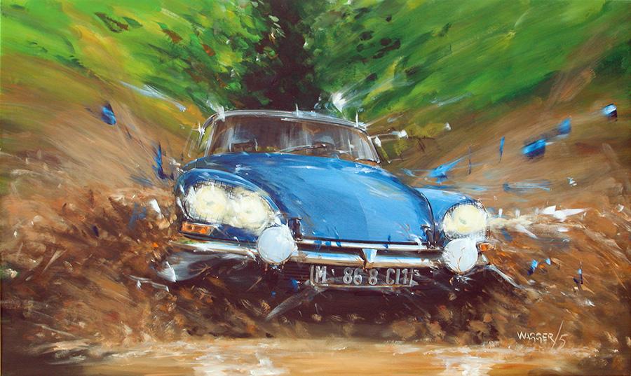 ds50 - Acryl auf Leinwand/Acrylic on canvas - Größe/size 150/90cm - verkauft/sold
