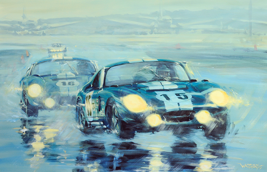 splash'n'dash II - Acryl auf Leinwand/Acrylic on canvas - Größe/size 140/90 cm - Preis auf Anfrage/Price upon request