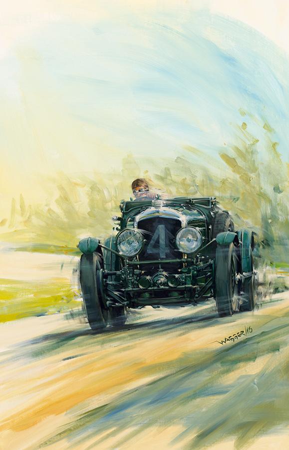 atspeed - Acryl auf Leinwand/Acrylic on canvas - Größe/size 90/140 cm - verkauft/sold