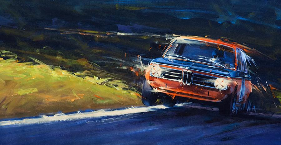 unstuck - Acryl auf Leinwand/Acrylic on canvas - Größe/size 83/43 cm - verkauft/sold