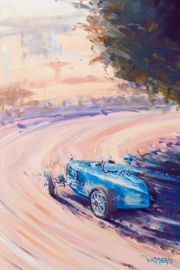 Varzi - Acryl auf Leinwand/Acrylic on canvas - Größe/size 60/90 cm - Preis auf Anfrage/Price upon request