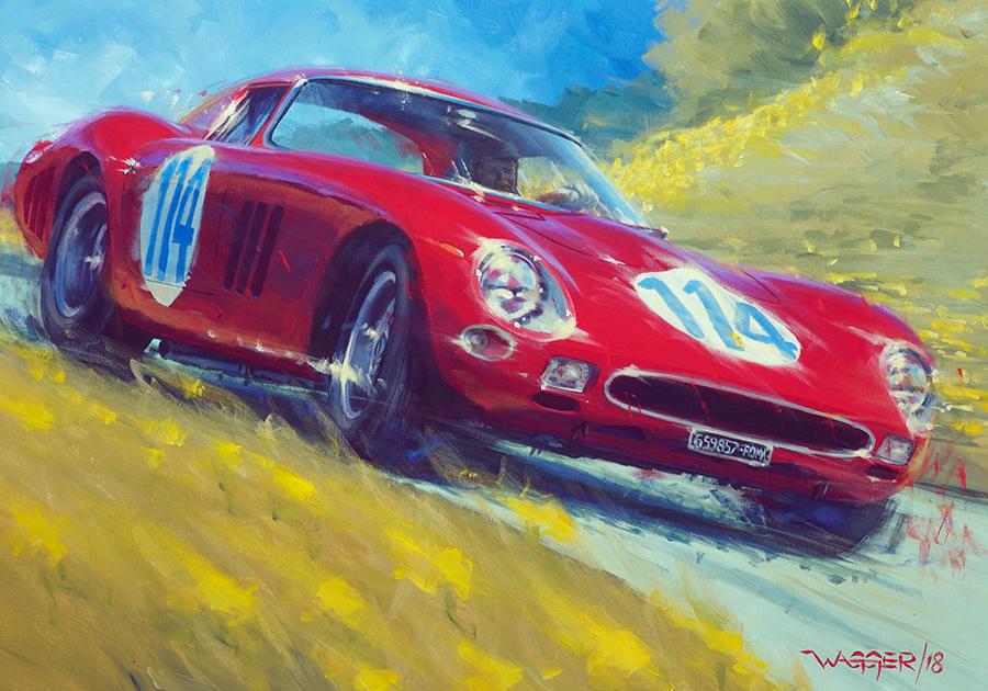 GTO - Acryl auf Leinwand/Acrylic on canvas - Größe/size 90/70 cm - verkauft/sold
