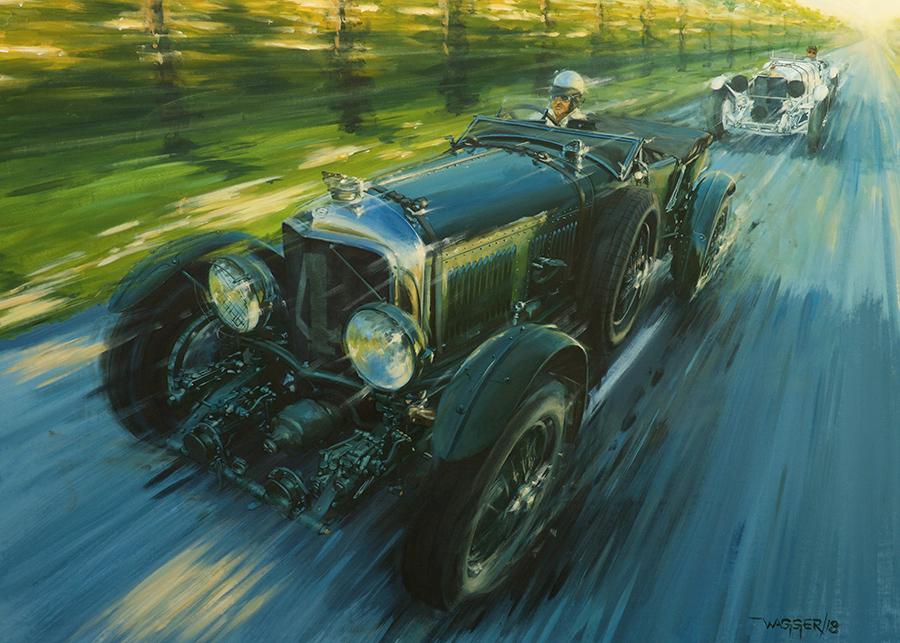 Trucks & Elephants - Acryl auf Leinwand/Acrylic on canvas - Größe/size 140/100 cm - verkauft/ sold