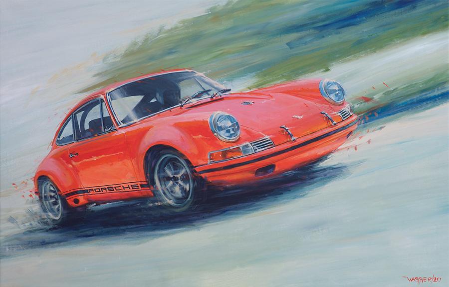 911ST - Acryl auf Leinwand/Acrylic on canvas - Größe/size 140/90 cm - verkauft/sold