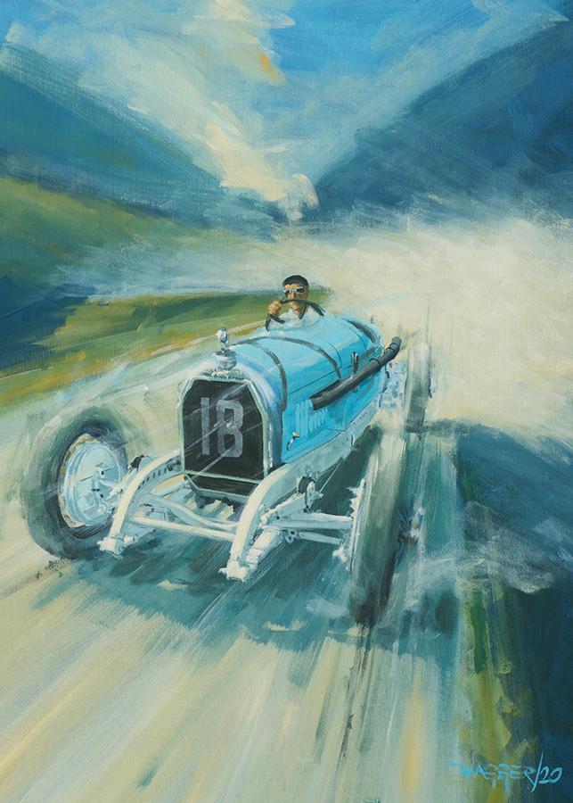 AD 1930- Acryl auf Leinwand/Acrylic on canvas - Größe/size 50/70 cm - Preis auf Anfrage/Price upon request