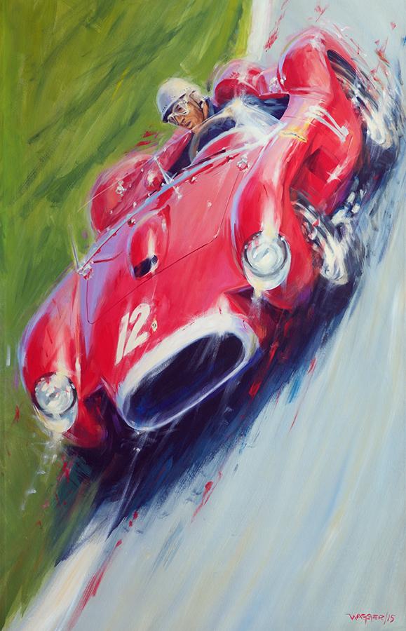 0748TR- Acryl auf Leinwand/Acrylic on canvas - Größe/size 90/140 cm - Preis auf Anfrage/Price upon request