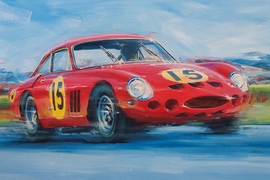 that other GTO - Acryl auf Leinwand/Acrylic on canvas - Größe/size 90/60 cm - Preis auf Anfrage/Price upon request